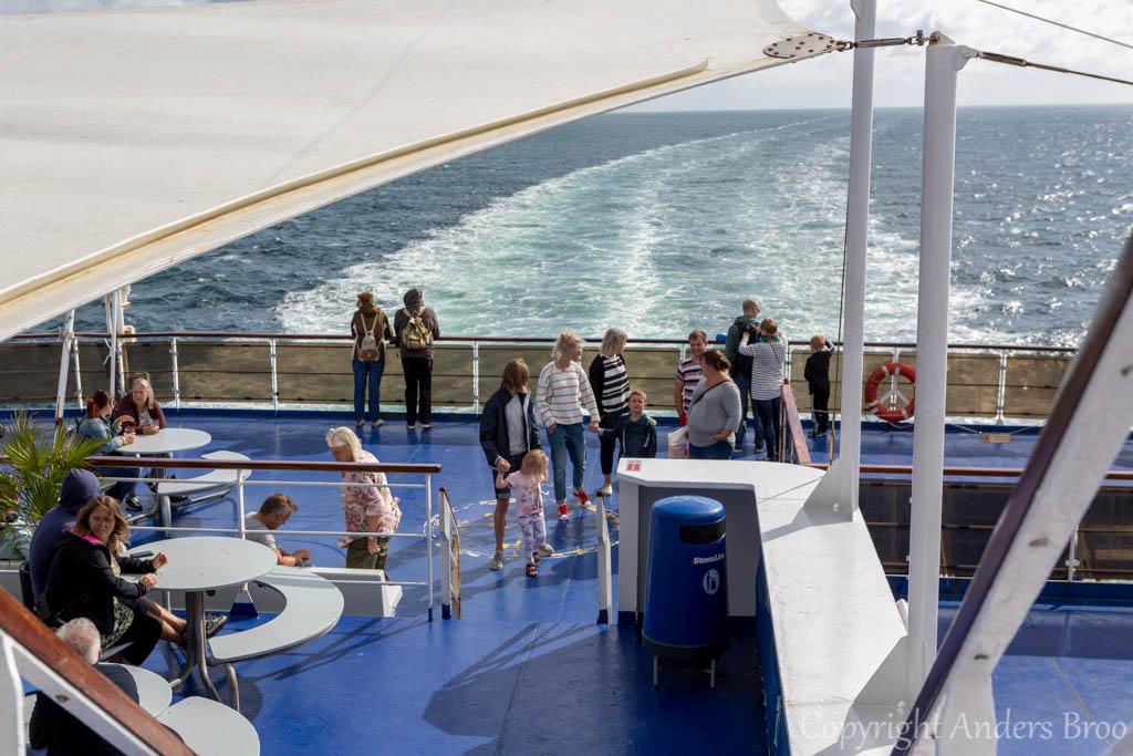 Ombord på Stena Danica